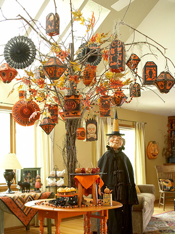 Halloween Living Room Decorating Ideas Part 20