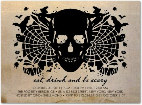 30 Creative Halloween Party Invitation Ideas - Shelterness
