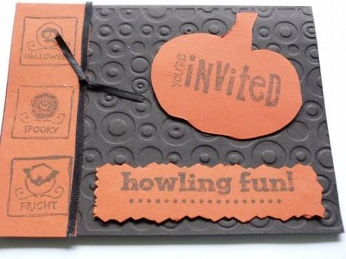 30 Creative Halloween Party Invitation Ideas Shelterness – Halloween Party Invitations Ideas