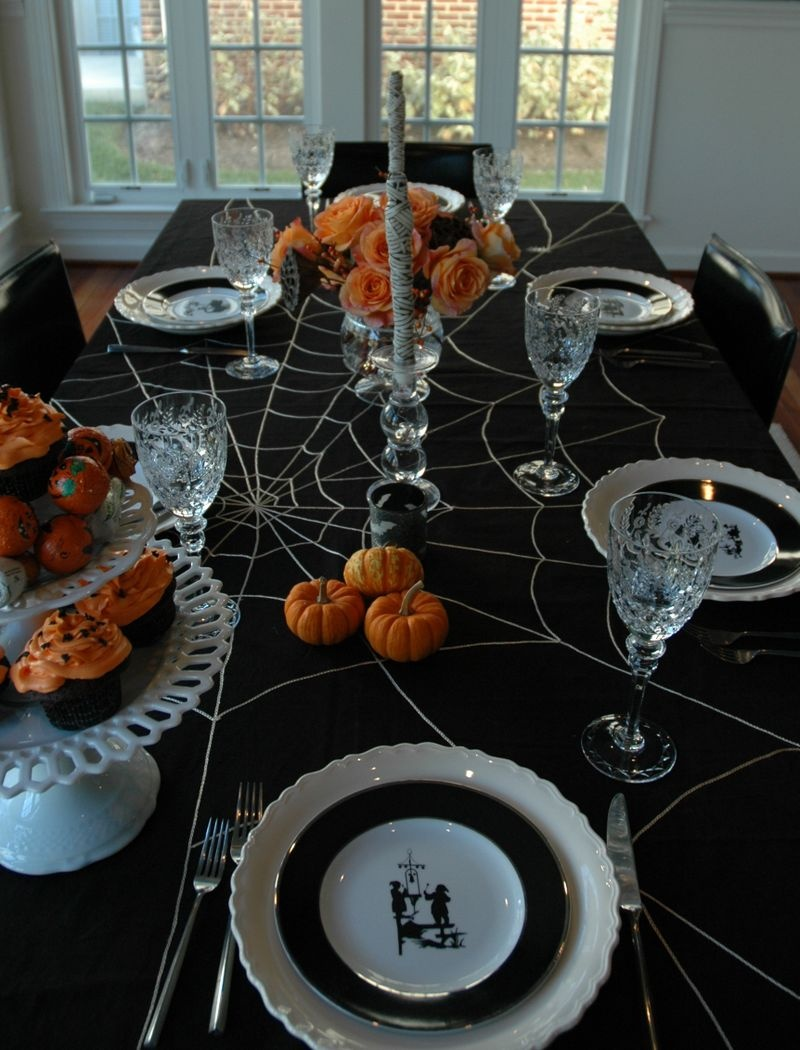 Halloween Table Centerpieces