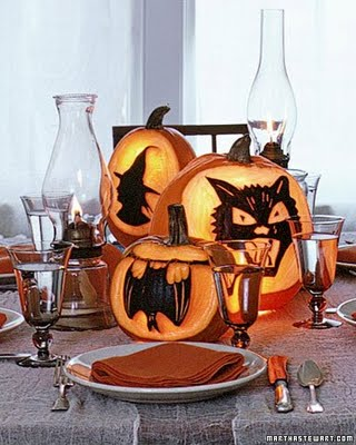 Halloween Table Centerpieces