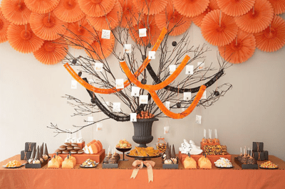 halloween table displays - Halloween Display Ideas