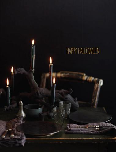 Halloween Table Displays