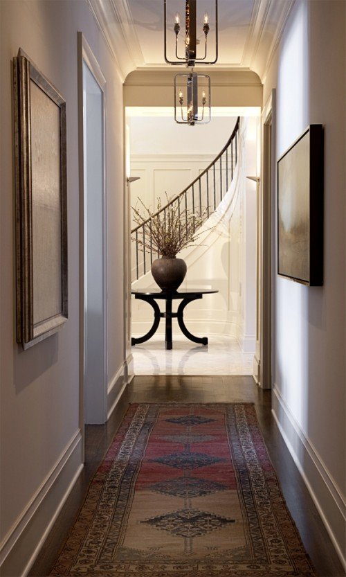 55 cool hallway decor ideas shelterness for Hallway decorating ideas