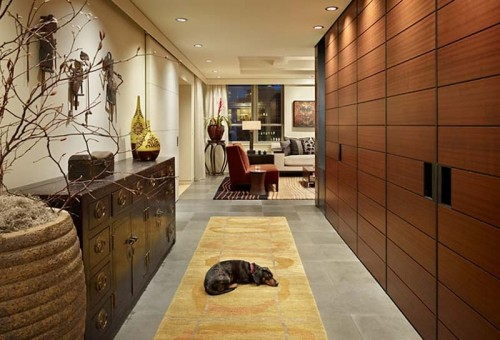 Hallway could become your storage space mecca.