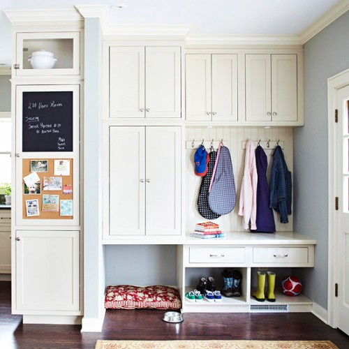 Mud Room Storage Ideas