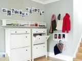 simple shoe racks is a necessity in any hallway