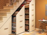 15 Hallway Under Stairs Storage Ideas