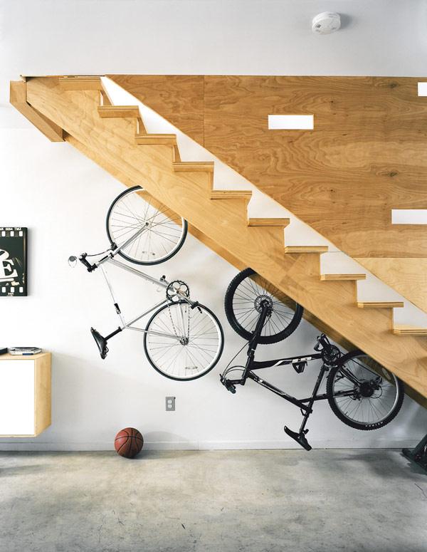 Hallway Storage Under Stairs