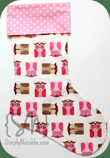 Retro Christmas Stockings