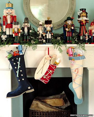 Nutcracker Stockings