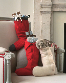 Sweater Stocking (via marthastewart)
