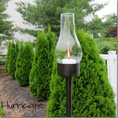 classy outdoor glass lanterns (via shelterness)