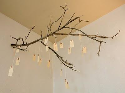 Hanging Thanksgiving Tree