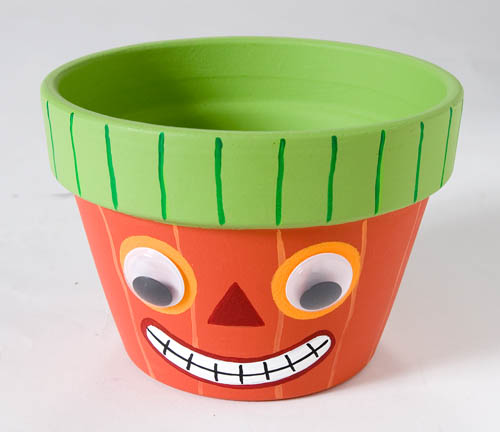 Happy Pumpkin Pot