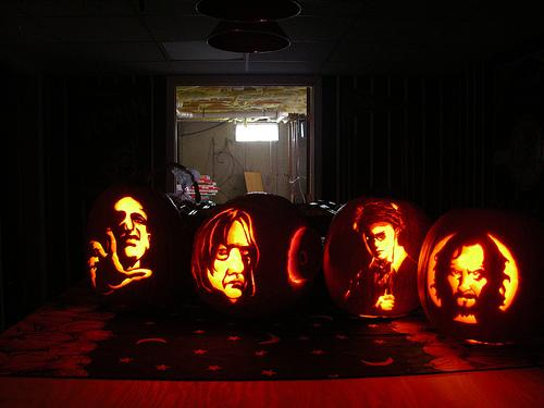 Harry Potter Characters Pumpkin Faces