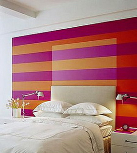 5 Beautiful Accent Wall Ideas To Spruce Up Your Home: 25 Ideas To Decorate Wall Behind Your Headboard With