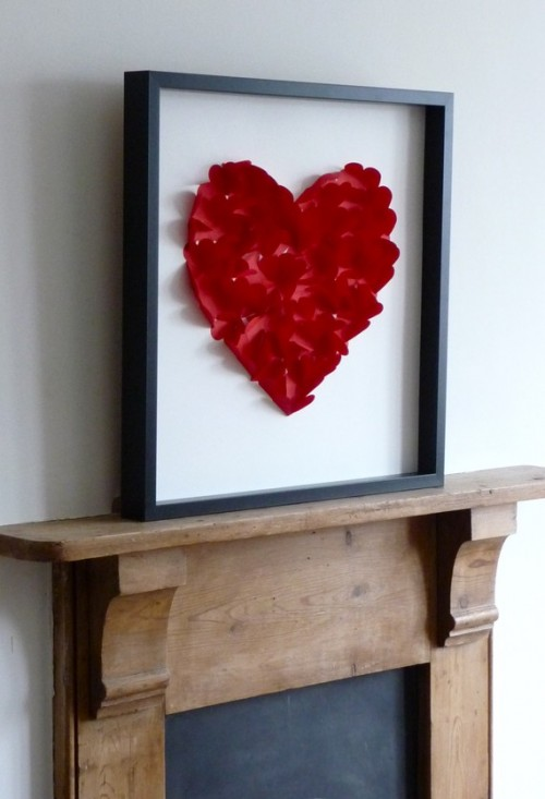 Framed Heart Pictures For Valentine's Day