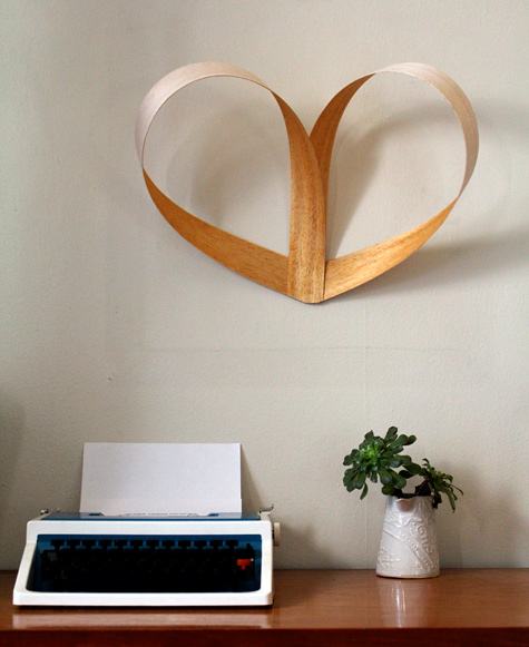 Picture Of Heart Wall Decoration
