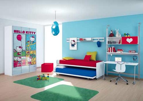 وإنتعاش اللون الأزرق في التصاميم الداخليه لمنازلناافكار لغرف نوم المراهقينلمسات