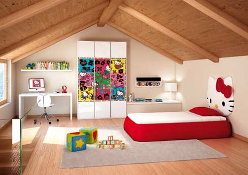 Active Hello Kitty Kids Bedroom