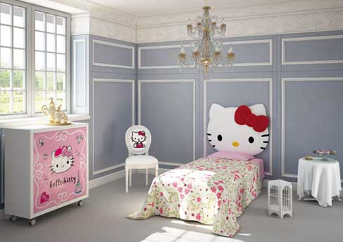 Sophisticated Hello Kitty Kids Bedroom