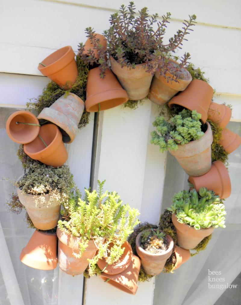 DIY Herb Garden Wreath