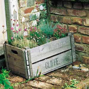 Herb Garden In A Crate (via mlchgarden)