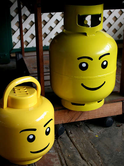 Hoew To Make Your Gas Bottle Looks Cool