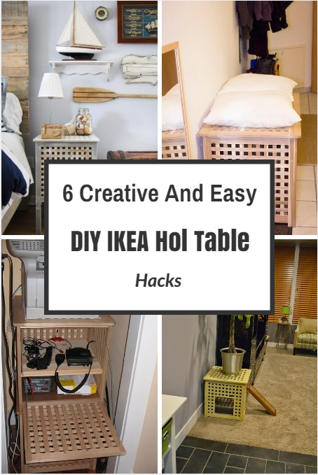 6 Creative And Easy DIY IKEA Hol Table Hacks