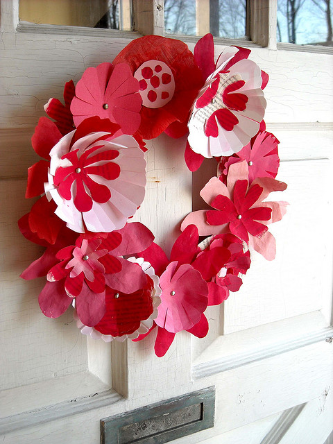 Holiday Red Wreath