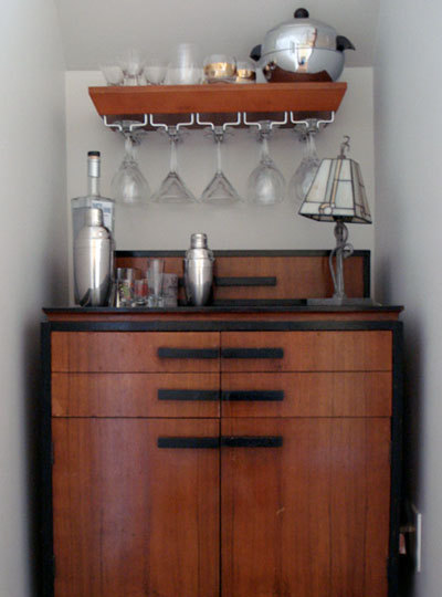 20 cool home bar design ideas shelterness for Mini bar decorating ideas