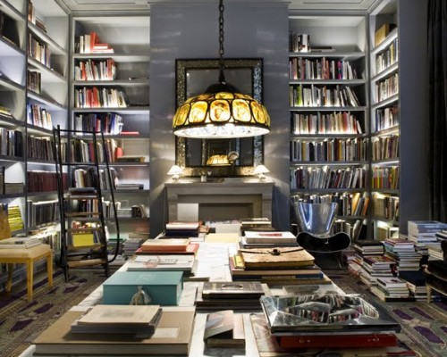 20 Cool Home Library Design Ideas - Shelterness