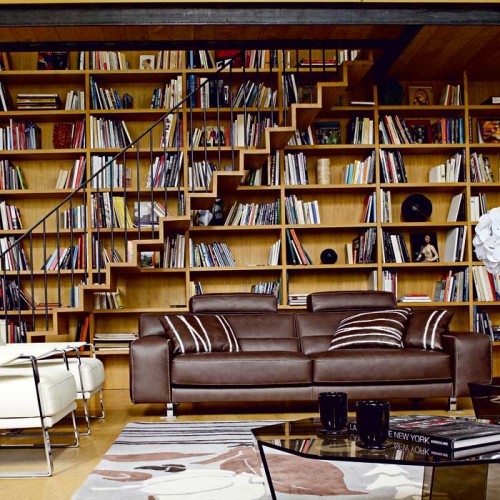 Home Library Designs
