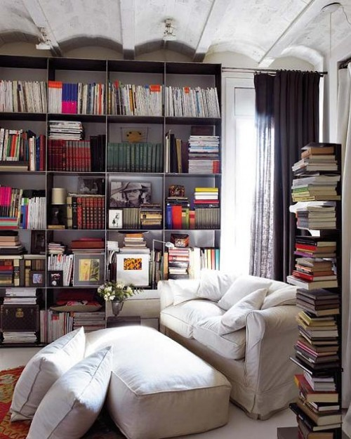 Home Design Ideas Book: 20 Cool Home Library Design Ideas