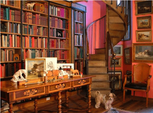 20 cool home library design ideas