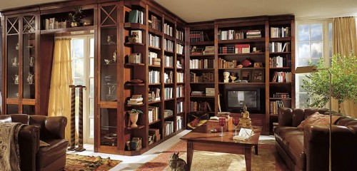 Home Library Design Ideas book shelves for personal library decorating and design in style Home Library Designs