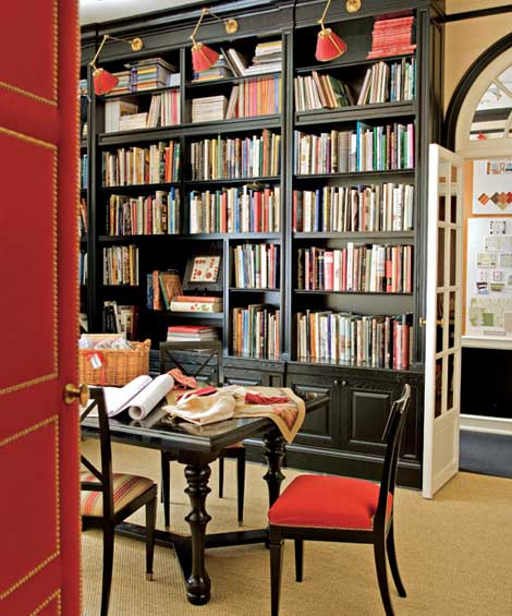 Home Library Designs 20 Cool Design Ideas  Shelterness