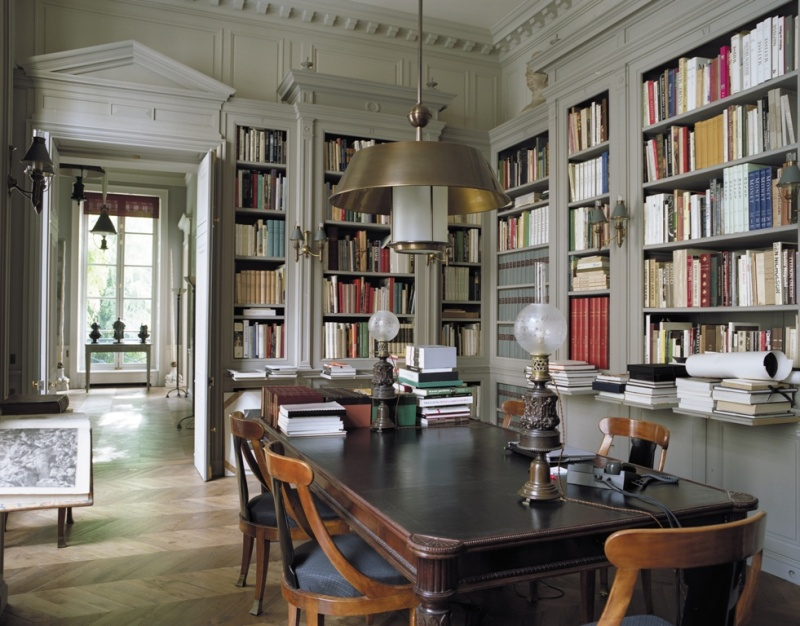 Picture Of Home Library Designs