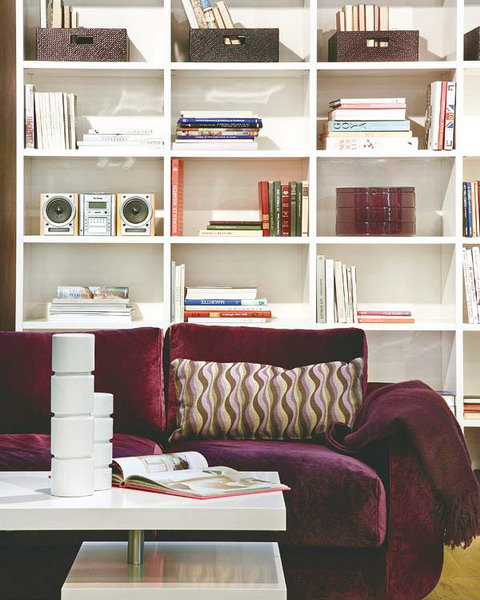 Make A Living Room A Library: 50 Ideas To Organize A Home Library In A Living Room