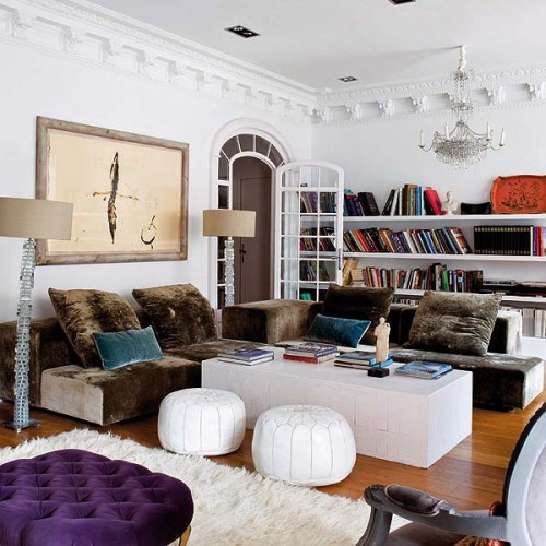 76 Ideas To Organize A Home Library In A Living Room Shelterness