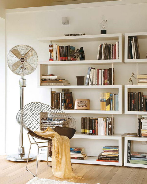 Home Library Room: 50 Ideas To Organize A Home Library In A Living Room