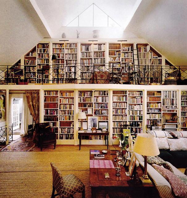 Home Library Shelves