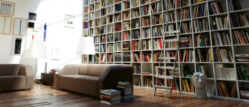 Home Library Shelves