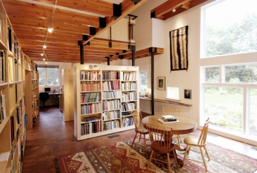 17 Cool Ideas To Organize A Home Library Without A Dedicated Room