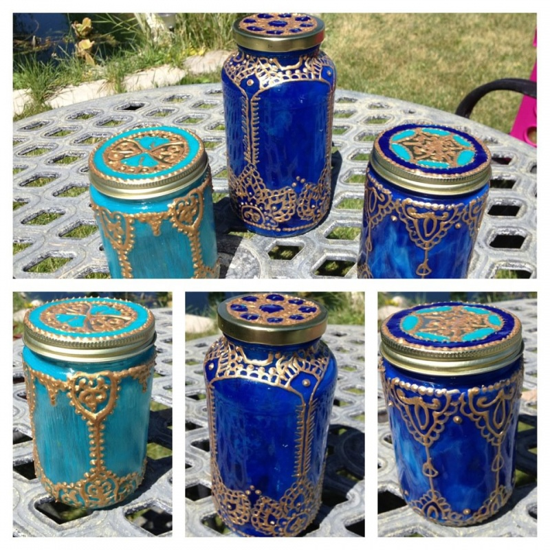 Picture of colorful moroccan lanterns with gold and silver for Moroccan decorations home