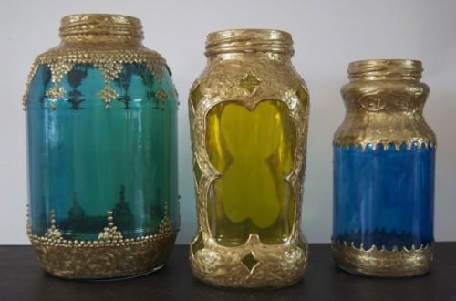 beautiful gilded lanterns (via shelterness)