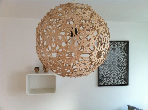 moresque lamp (via instructables)