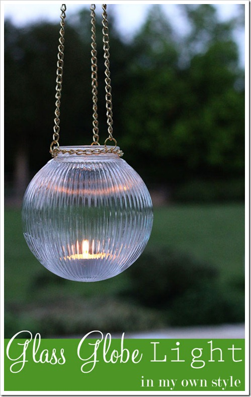 glass globe lights