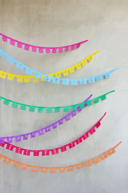 papel picado streamers